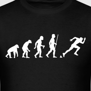Sprinting Evolution - Men's T-Shirt