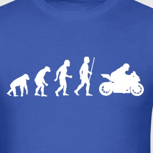 Evolution of Motorbike - Men's T-Shirt