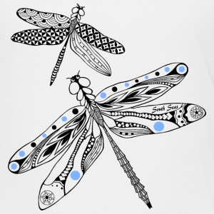 Dragonfly black and blue Kids' Shirts - Kids' Premium T-Shirt