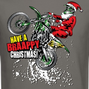 Braappy Christmas Santa Long Sleeve Shirts - Crewneck Sweatshirt