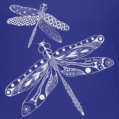 Kids Dragonfly t-shirt, South Seas Designs