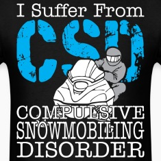 I Suffer From Compulsive Snowmobiling Disorder