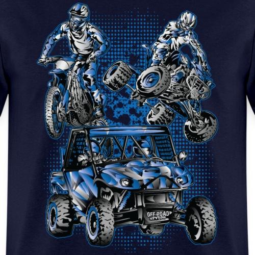 Moto Extreme Sports Blue