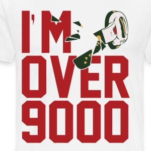 DragonBall I'm Over 9000! - Men's Premium T-Shirt