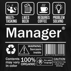 Manager Funny T-Shirt