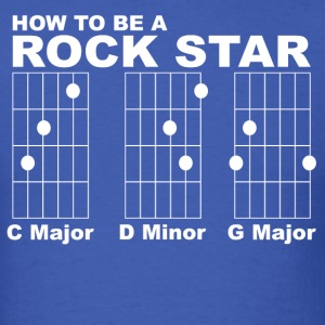 How to be a rock star funny - Men's T-Shirt