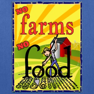 No farms No food Bags & backpacks - Tote Bag