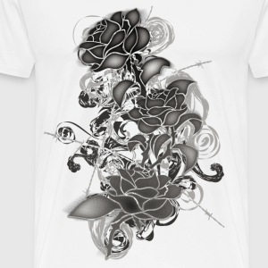 Cold_Roses - Men's Premium T-Shirt