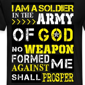 Army of God Solider T-Shirts - Men's Premium T-Shirt