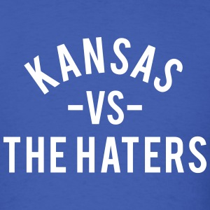 Kansas vs. The Haters T-Shirts - Men's T-Shirt