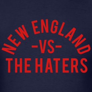 New England vs. The Haters T-Shirts - Men's T-Shirt