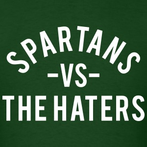 Spartans vs. The Haters T-Shirts - Men's T-Shirt