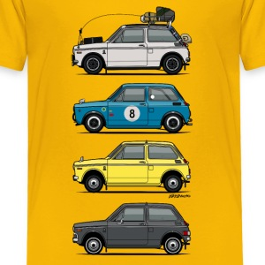 Stack of  Vintage Honda N360 N600 Kei Cars Baby & Toddler Shirts - Toddler Premium T-Shirt