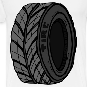 old tire - Men's Premium T-Shirt