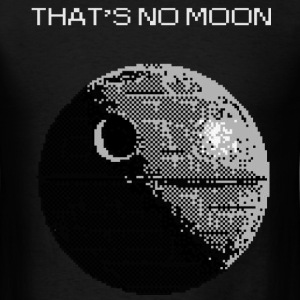 That's No Moon - Men's T-Shirt