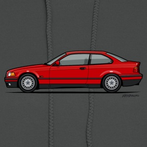 Red BMW 3-Series E36 Coupe Hoodies - Women's Hoodie