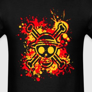 one piece slpatter - Men's T-Shirt