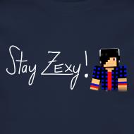 Design ~ Stay Zexy Line Crewneck - Unisex