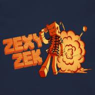 Design ~ ZexyZek Explosion Crewneck - Unisex
