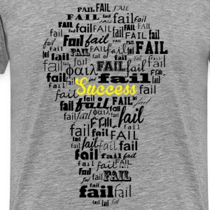 Failure leads to success - Men's Premium T-Shirt