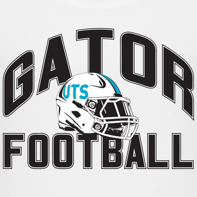 Kid's UTS Gator Football Premuim T-shirt - White