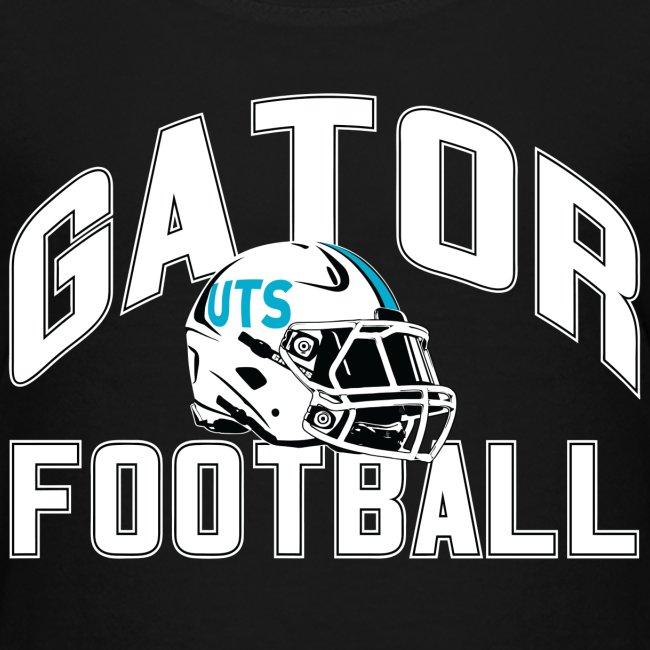 Kid's UTS Gator Football Premuim T-shirt - Black
