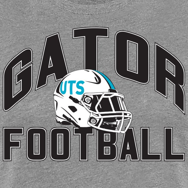 Women's UTS Gator Football Premuim T-shirt - Gray