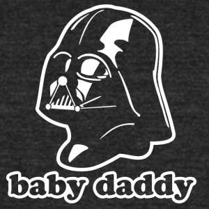 Darth Vader Baby Daddy! T-Shirts - Unisex Tri-Blend T-Shirt by American Apparel