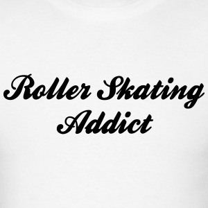 roller skating addict t-shirt - Men's T-Shirt