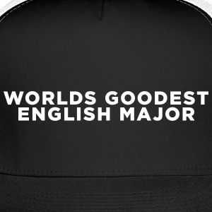 English Major Funny Quote Caps - Trucker Cap