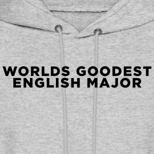 English Major Funny Quote Hoodies - Men's Hoodie