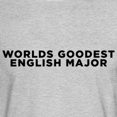 English Major Funny Quote Long Sleeve Shirts