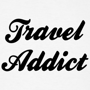 travel addict t-shirt - Men's T-Shirt