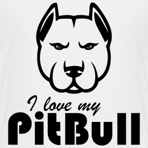 i love my pitbull - Kids' Premium T-Shirt