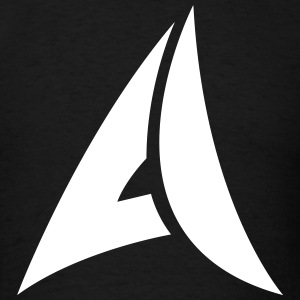 Aerofan91 Logo Tee (Black) - Men's T-Shirt