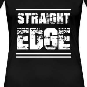 Straight Edge - Women's Premium T-Shirt