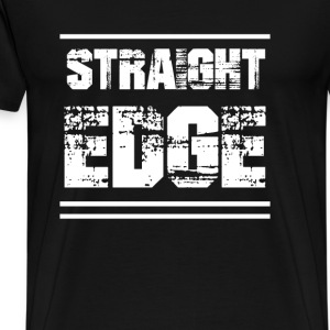 Straight Edge - Men's Premium T-Shirt