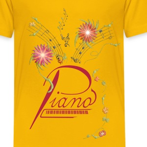 Flower Piano - Kids' Premium T-Shirt
