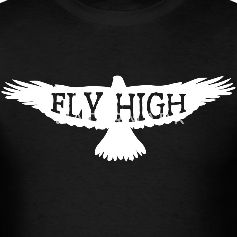 Fly High Adventure Motivation Design T-Shirts - Men's T-Shirt