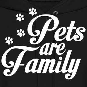 Pets Are Family Hoodies - Men's Hoodie