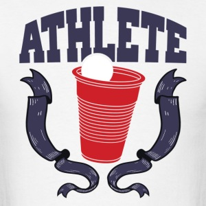 Beer Pong Athlete T-Shirts - Men's T-Shirt