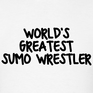 worlds greatest sumo wrestler t-shirt - Men's T-Shirt