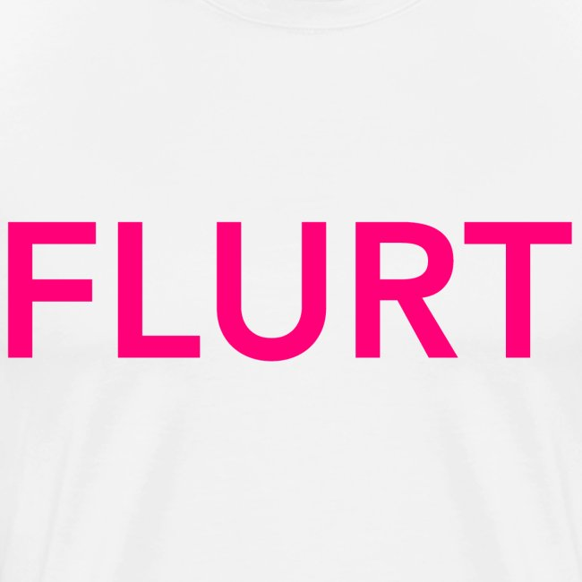 FLURT T-Shirt, White