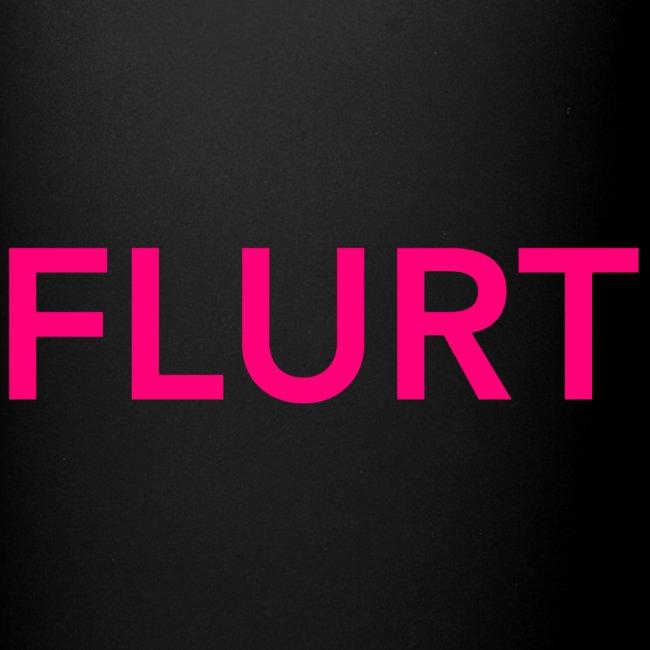 FLURT Mug, Black
