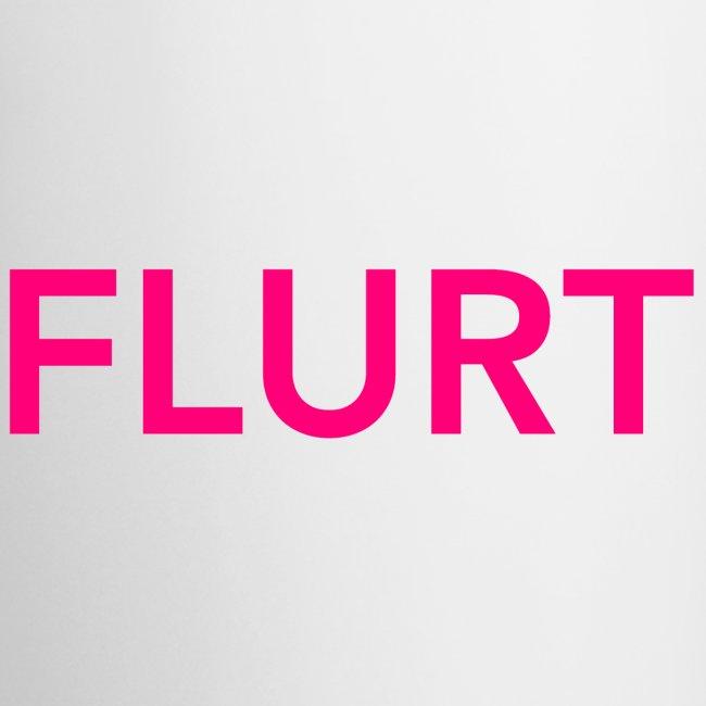 FLURT Mug, White