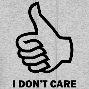 I don't care - Men's Hoodie