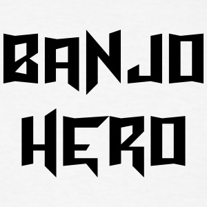 banjo hero t-shirt - Men's T-Shirt