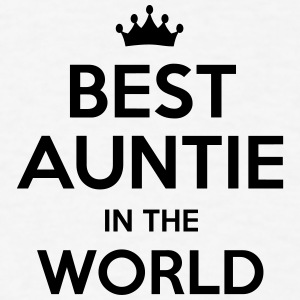 best auntie in the world t-shirt - Men's T-Shirt