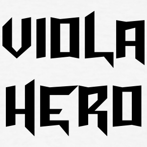 viola hero t-shirt - Men's T-Shirt