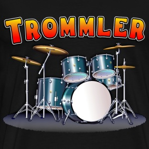Drum Set Trommler - Men's Premium T-Shirt